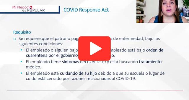 Cambios laborales a raíz del COVID-19