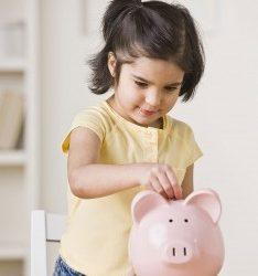 Teach them the value of saving