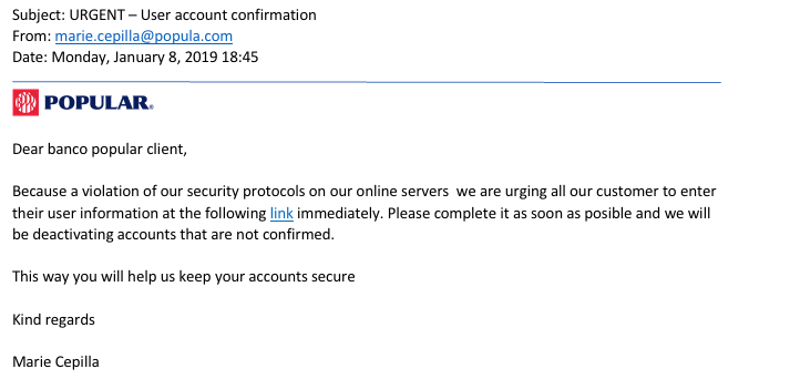 How to Identify a Fraudulent Email